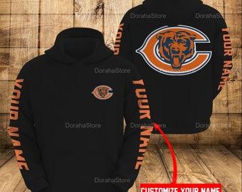 Personalized Chicago Bears NFL Hoodie, Unisex Hoodie PHT272101B104