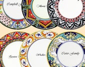 TEST - 6 tableware and kitchenware styles Handmade and Hand Painted Made in Italy