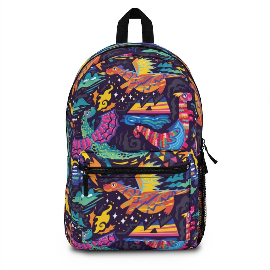 1. Dragon Personalised Backpack
