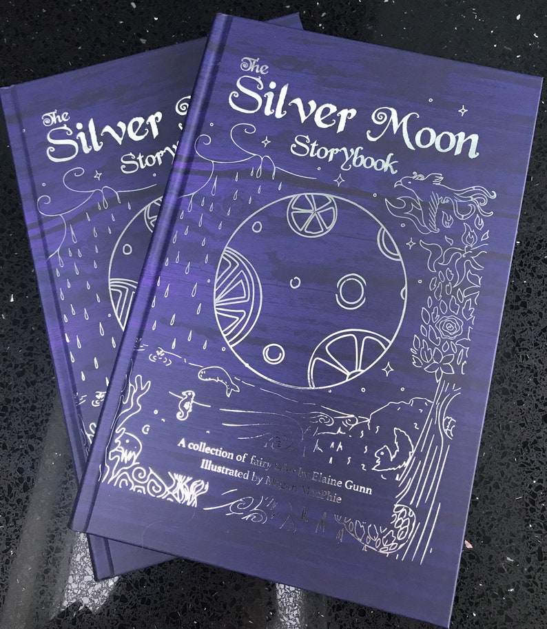 The Silver Moon Storybook  a collection of modern feminist image 0