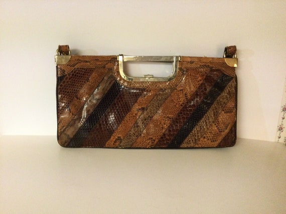 Vintage Genuine Snakeskin Purse