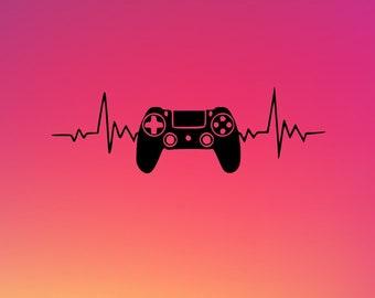 Gaming SVG File! | Cricut | Cricut Joy | Digital File | SVG | PNG | Crafter Gamer Svg