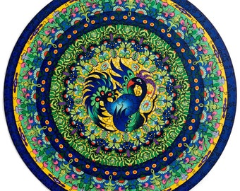 Wooden Puzzle Mandala 300 Pieces Whimsy Puzzle