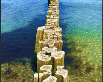 Wooden puzzle Baltic Sea 250 pieces