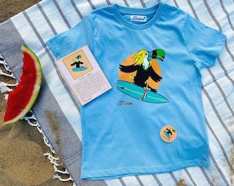 Organic Surfer Shirt Twokan Kids