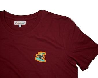 "Shirt ""Surfer Twokan"" Logo Unisex"