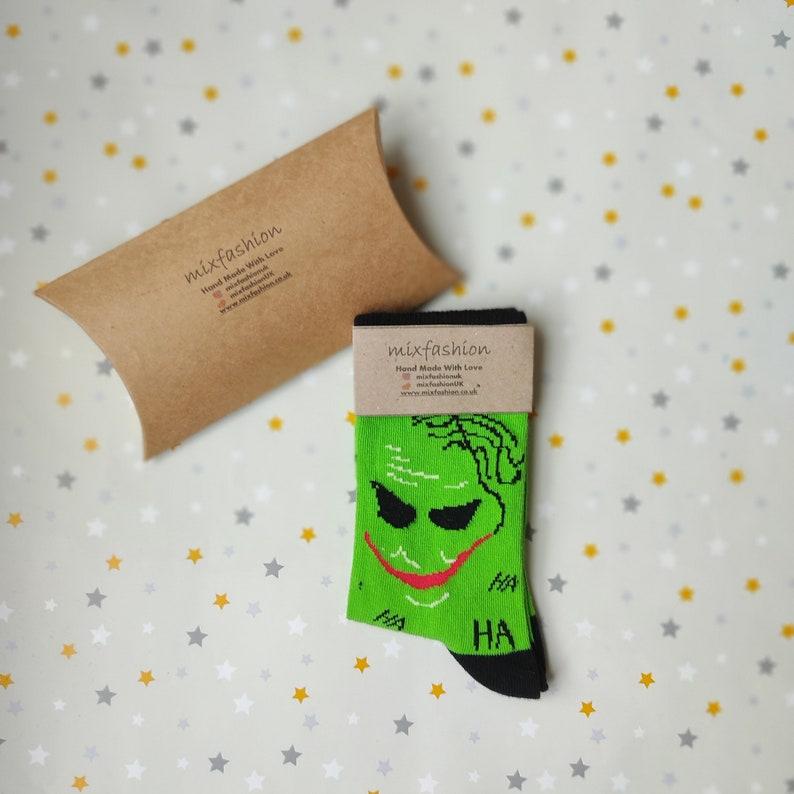 Easter Gift in UK Joker Socks Happy /& Funny High Quality