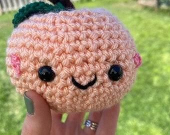 Handmade Crochet Amigurumi PEACH!