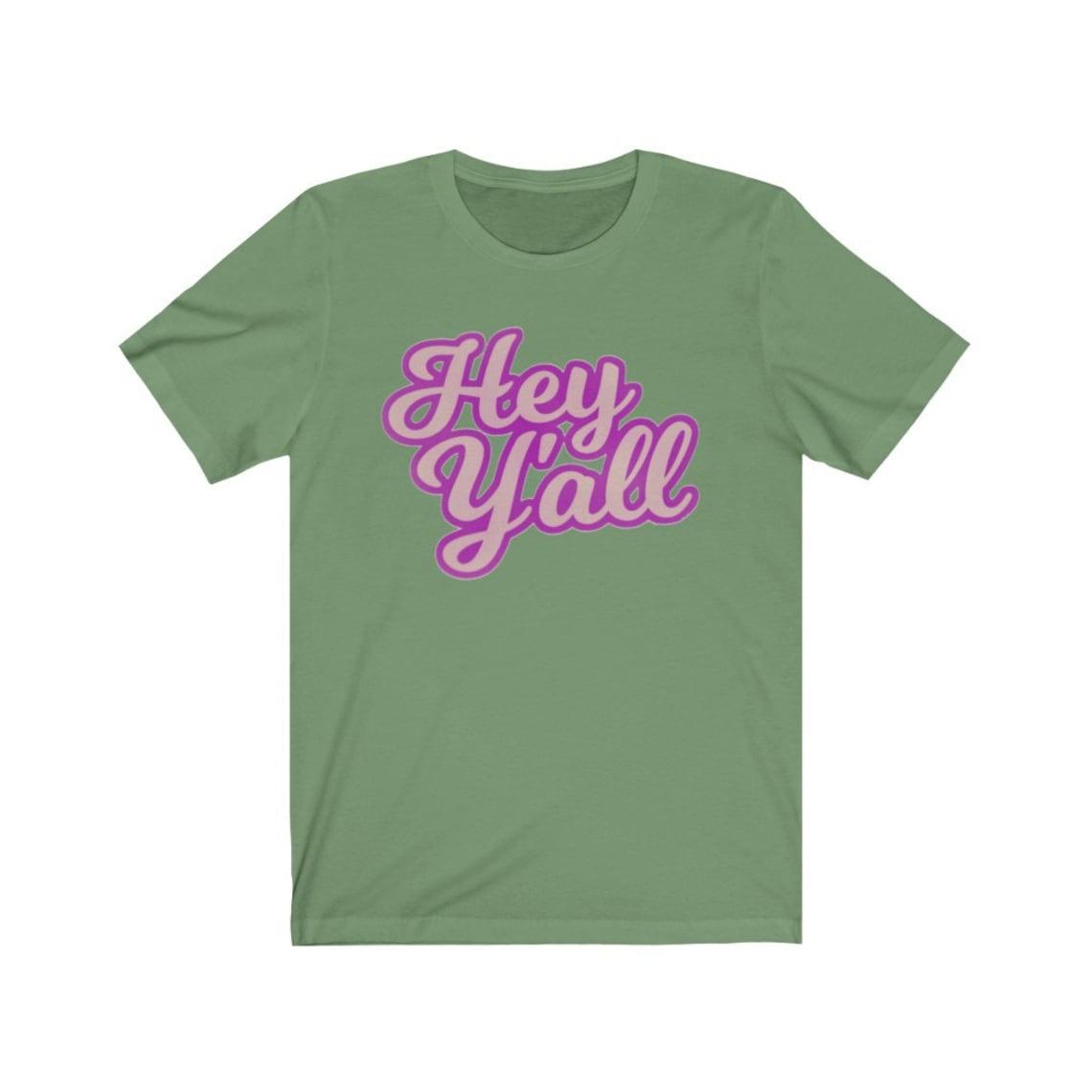 Hey Yall T-Shirt süße südliche T-shirt südliche Sprüche
