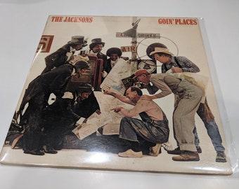 """The Jacksons / Jackson 5 """"Goin' Places"""" Vinyl LP (EX gatefold cover / EX disc)"""