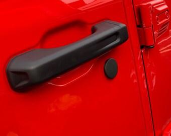 18-21 Jeep Gladiator Door Lock Caps New Updated version no adhesive needed, The Original Santi's Caps