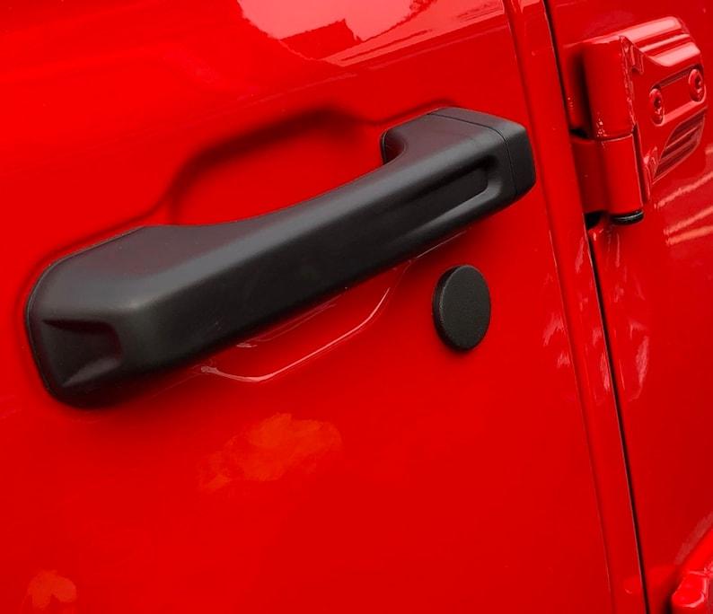 18-21 Jeep Gladiator Door Lock Caps New Updated version no image 0