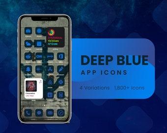Deep Blue App Icons for iOS 14