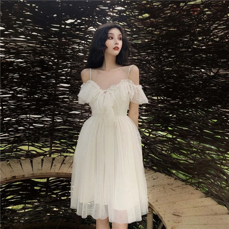 Goddess dress Aesthetic Cottagecore Clothing Dress  Vintage dress Valentine day dress
