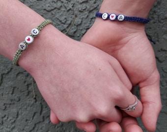 COUPLES Bracelet Set - Custom Order