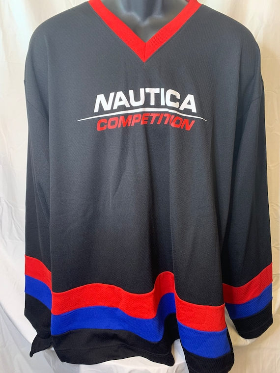 Vintage Nautical Competition Hockey Jersey