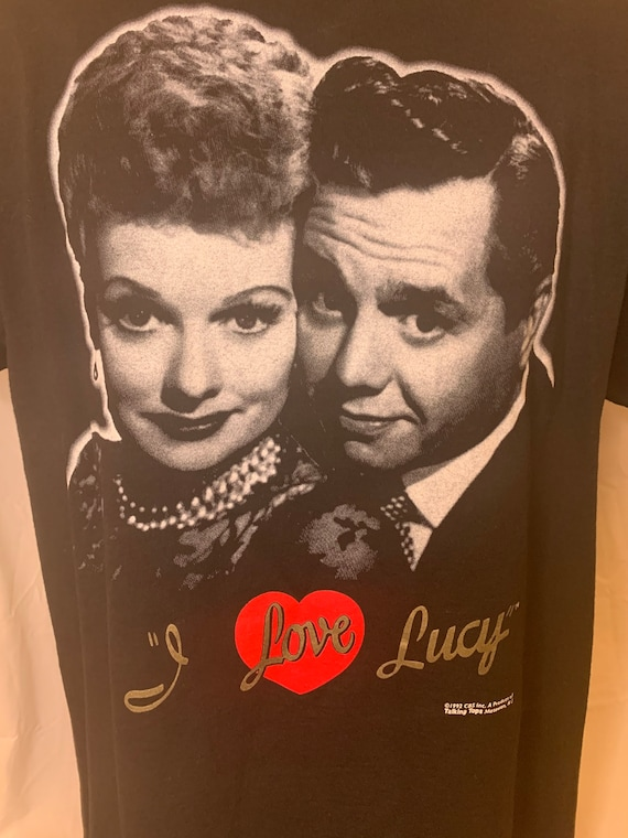Vintage I Love Lucy Tv Series T-Shirts