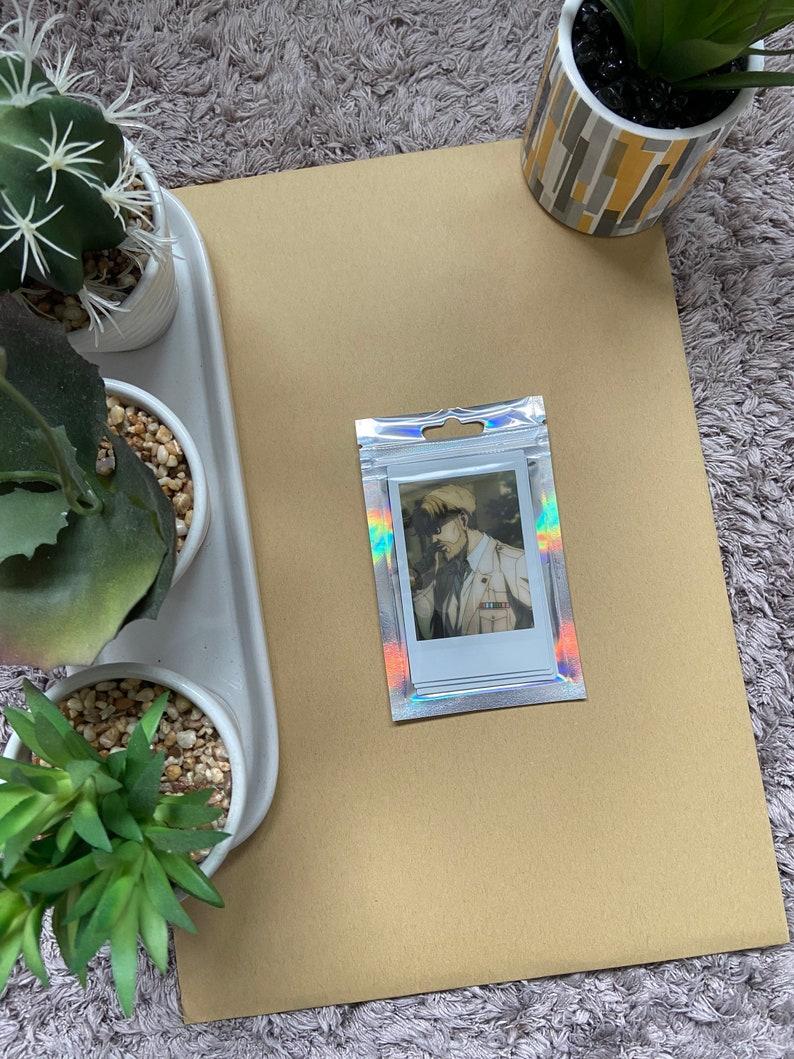 Attack On Titan 4 Polaroids Zeke Yeager Polaroid Set