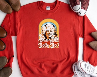 Details about  /Dolly Parton What would Dolly do Hoodie Sweatshirt Jumper Men Women Unisex 3737