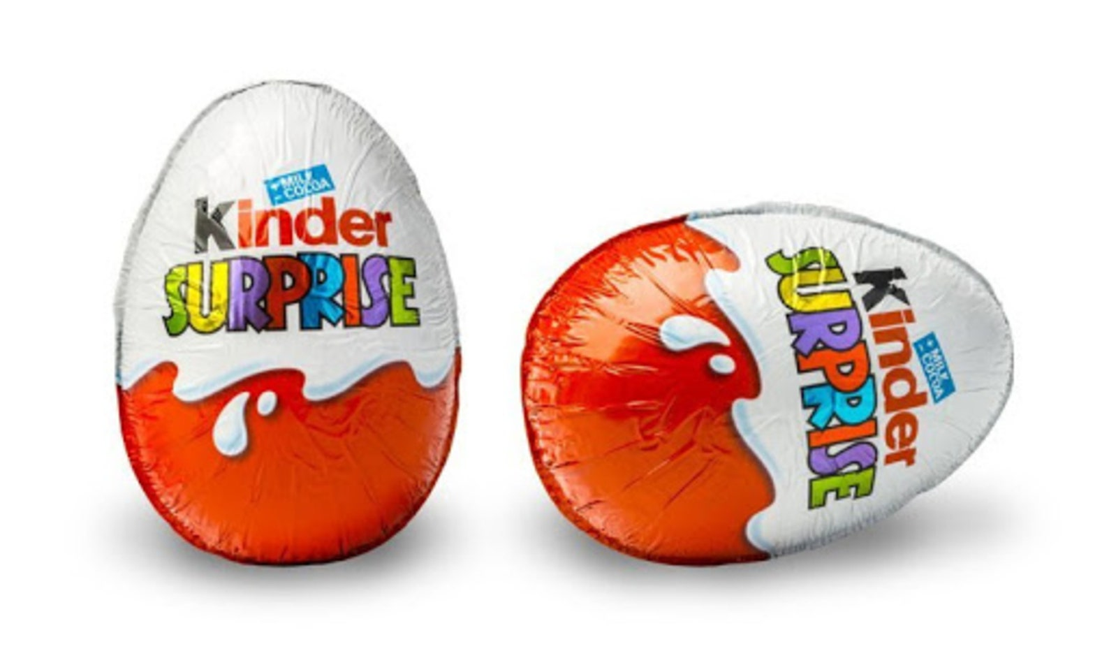 Original KINDER SURPRISE, Chocolate egg with a toy inside