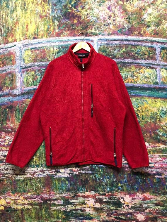 Vtg 90's patagonia rare Fleece zipper jacket