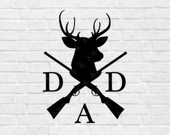 Download Dad Hunting Svg Etsy