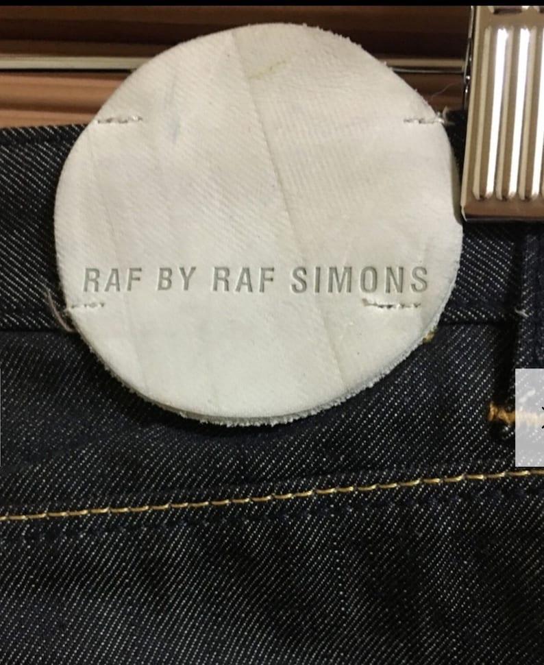 Raf Simons denim