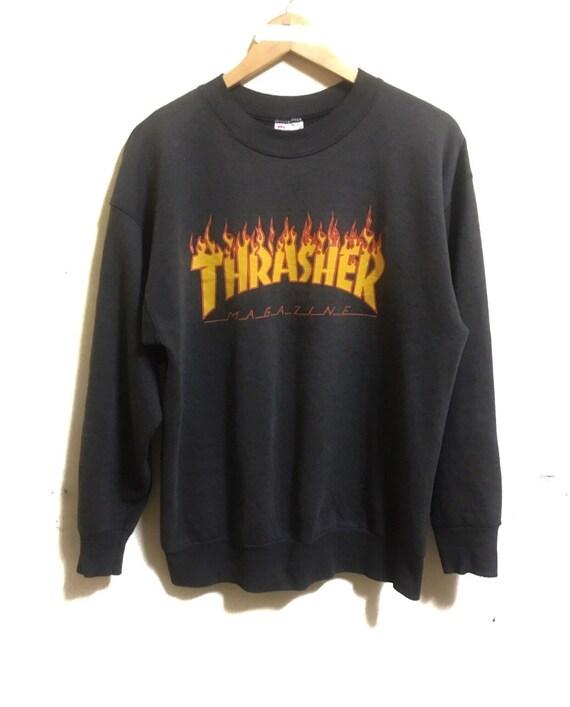 Vintage Thrasher Fire Logo