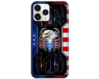 9 UV 20 7+ X Xs iPhone 12 Mini 11 Pro Max S9 + SE Wood Case Xr 8+ FE 10+ S8 Note 8 American Pride 6+,Samsung S20 Ultra