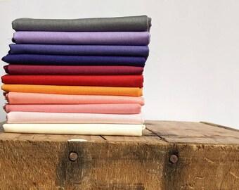 Robert Kaufman SALE cotton designer, cotton quilt Painterly Petals Bundle 14 designs cotton Reg 52.64-154.14