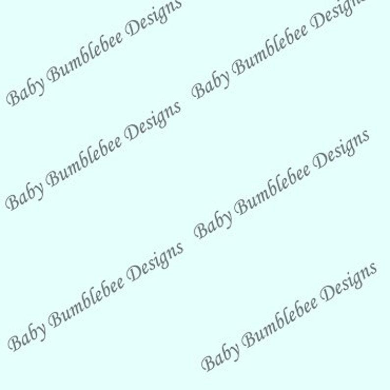 Solid Baby Blue Cotton Spandex cotton lycra D dogs Coordinate