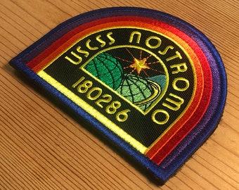 Alien Movie USCSS Nostromo 180286 Badge Adult T Shirt