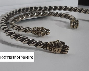 Quinn  Franz Scheurle 1990/'s silver neck ring  torc necklace