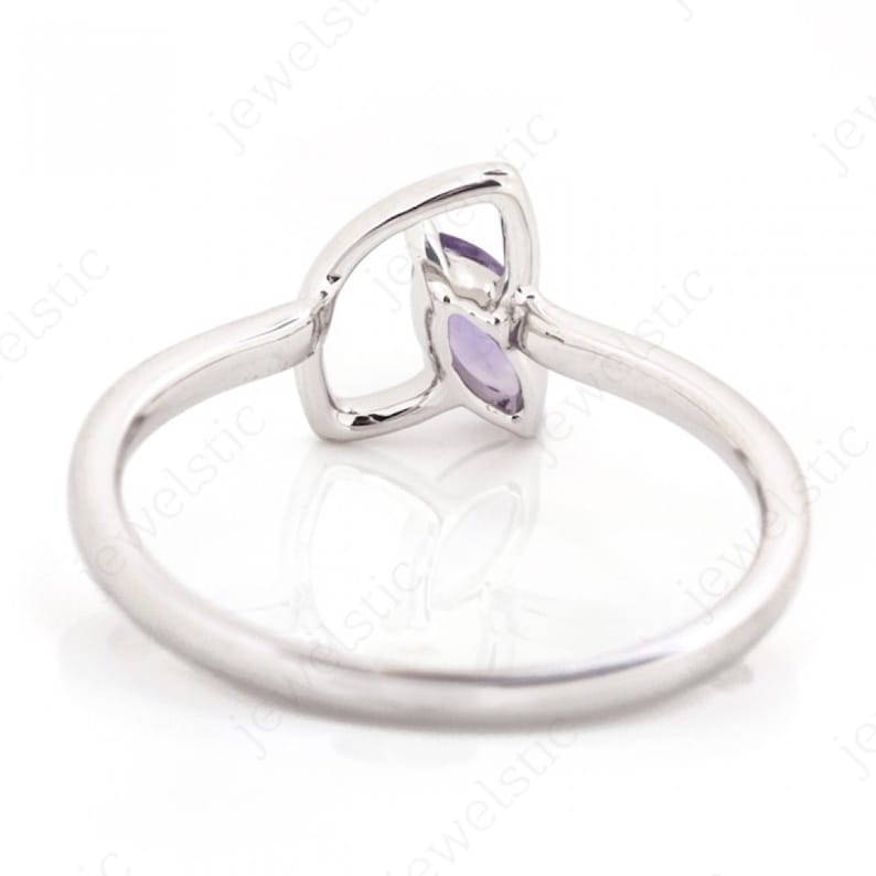 Birthday Gift Gift for Her Exclusive Ring Tanzenite Gems Ring Designer Ring Marquise Gems Ring Women/'s Ring 925 Silver Ring
