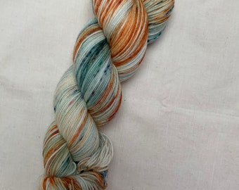 Hand dyed yarn - tropical speckles