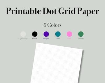 Printable Dot Grid Paper. Bullet Paper. Dot Graph Paper. Dotted Graph Paper. Dotted Grid Paper.