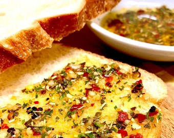 Bread Dipping Spices, Olive Oil Dip, Seasoning Mix, Hand Blended Spice, for Olive Oil Seasoning, Tuscan Herb Blend