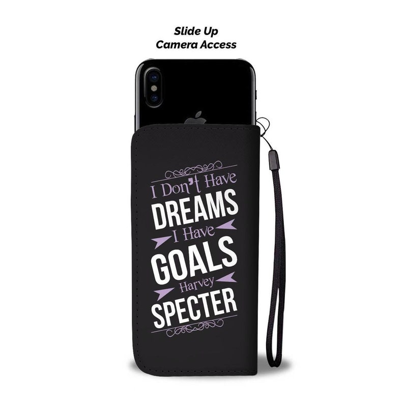 Quotes Wallet Phone Case Custom Personalized Protective Cell Phone Book Cover for iPhone Samsung LG Google Huawei OnePlus