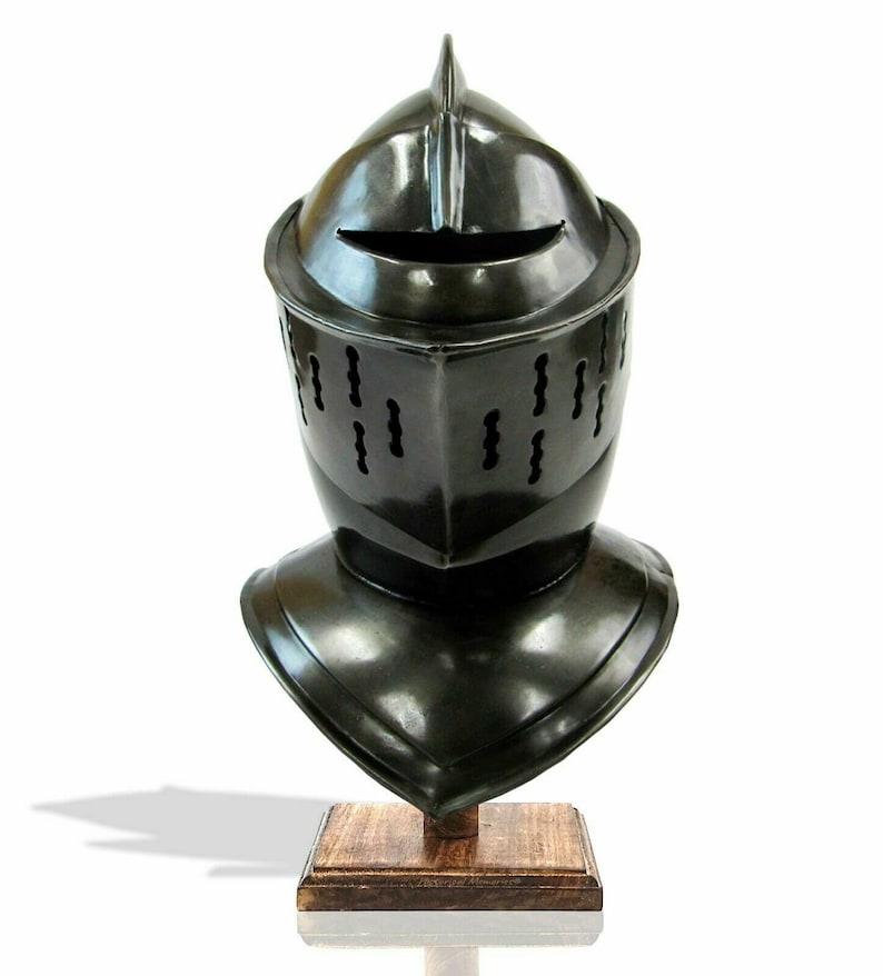 Whetstone Cutlery Medieval Knight/'s Full Size Armor Helmet