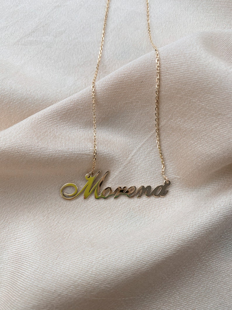 Personalized Name Necklace Personalized Gifts Silver Name Necklace 14K Gold Name Necklace Valentine/'s Day Gifts,