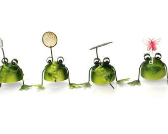 Comical Frogs Cheeky Pants Frog Small Resin Figurine Home Decor Fun Gift 80322