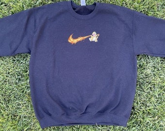 Christmas Gifts Video Game Clothing Classics Shirt Pikachu Card Art Sweater Custom Crewneck Unisex Mens /& Women/'s Clothing