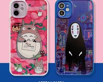 Miyazaki Totoro Chihiro iPhone covers