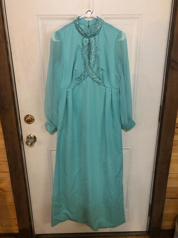 Lot of 3 vintage 70s dresses/vintage dresses/vint… - image 6