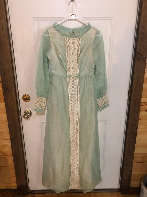 Lot of 3 vintage 70s dresses/vintage dresses/vint… - image 9