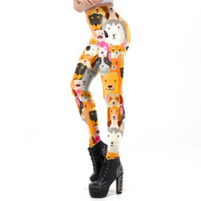 Women/'s Animal Design Leggings