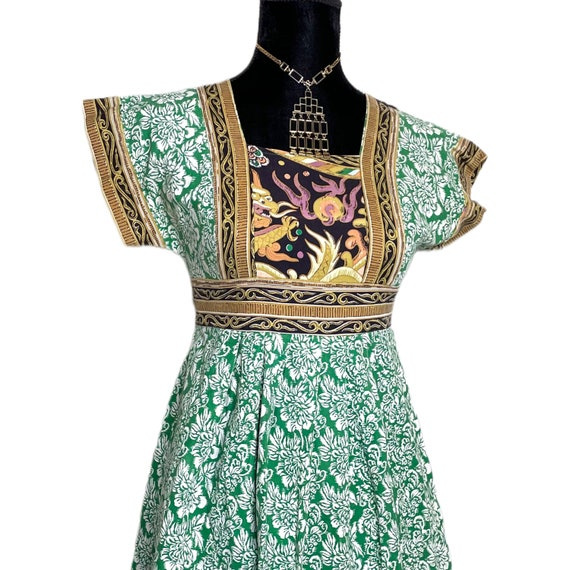 Vintage dragon dress