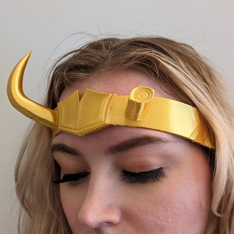 Lady Loki Sylvie 3D printed Crown image 0