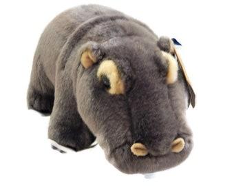 Stuffed Miyori Hippopotamus