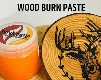 Torch Paste | Wood Burn Paste | Wood Burn with heat | Easy Wood burn tool | Easy Pyrography |